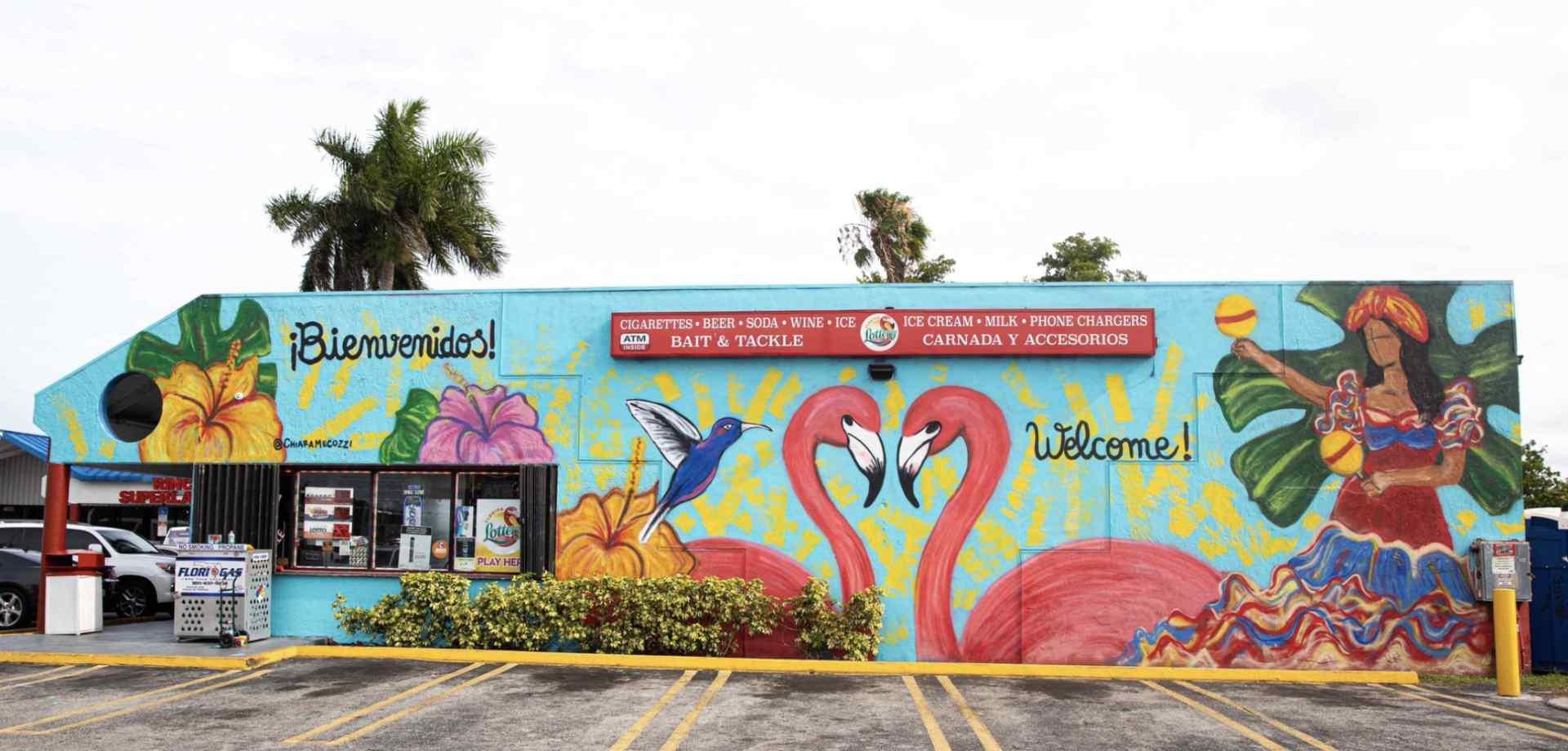 Mural at Latin American Plaza